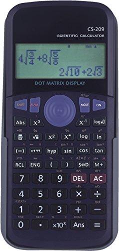 School Smart Scientific Digit Calculator, Black