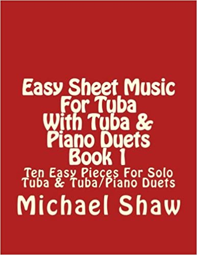 Easy Sheet Music For Tuba With Tuba Piano Duets Book 1