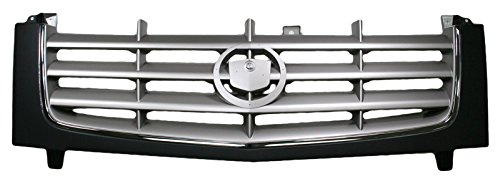 Replacement Grill Grille Chrome and Black for 02-06 Cadillac Escalade ESV (Escalade Chrome Grill)