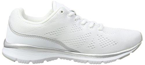 Lotto ARIANE IV AMF W - Zapatillas de running Mujer Blanco / Gris