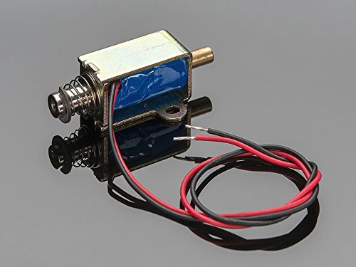 Small Push-Pull Solenoid - 12VDC by Adafruit Industries