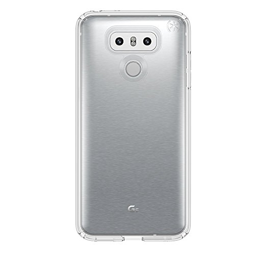 Speck Products Presidio Clear Cell Phone Case for LG G6 - Clear/Clear