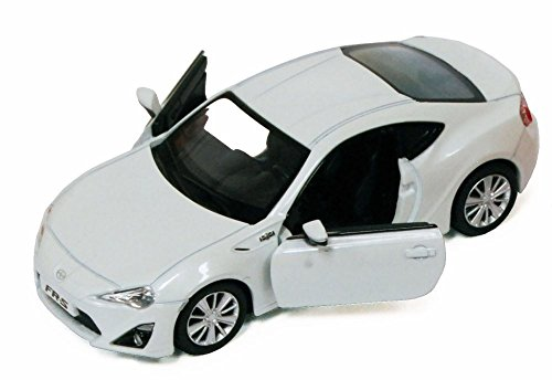 Toyota Scion FR-S, White - Uni-Fortune 555020US - 1/33 Scale Collectible Model Toy Car (Brand New, but NO BOX)