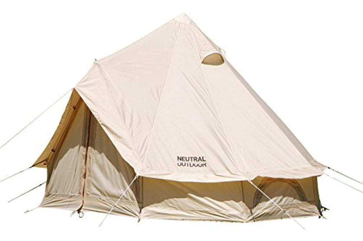 [해외] NEUTRAL OUTDOOR뉴트럴 아웃도어 원 폴 텐트 NT-TE01 GE 텐트2.5M베이지 2〜3명 용수납 봉투 첨부 23456