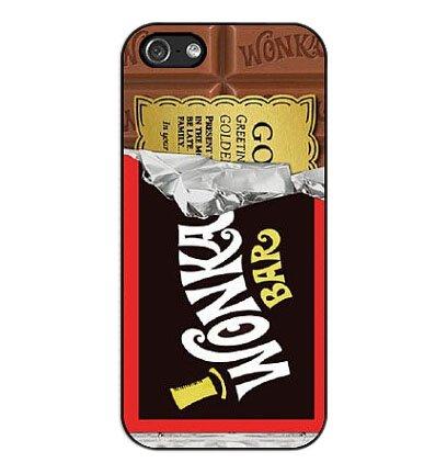 Season.C Hot Style Opened Half Wonka Chocolate Black Hard Back Case Cover for iPhone 5C