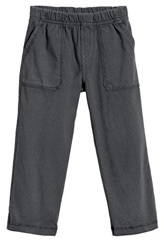 City Threads Little Boys' and Girls' Soft Jersey Tonal Stitch Pant Perfect for Sensitive Skin SPD Sensory Friendly Clothing - Charcoal 4T Boys Capri Pants