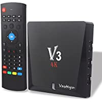 Streaming Media Player 2017 Model Doo Android 6.0 TV Box, ABOX Android TV Box Amlogic True 4K Playing(V3)