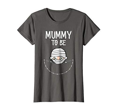 Womens Mummy To Be: Cute Women's Halloween Costume -