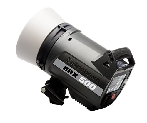 Elinchrom Style 500 (500w) BRX Multi-Voltage Compact Flash Unit (Multi Color) (EL20441.1) by Elinchrom