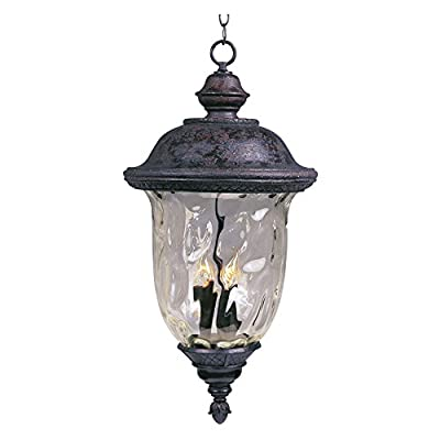 Maxim 3427WGOB Carriage House DC Outdoor Hanging Lantern - 12.5W in. Oriental Bronze