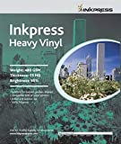 Inkpress Signage Media, Heavy Weight Inkjet Vinyl Banner Material 44'' X 40' Roll for Indoor - Outdoor Use