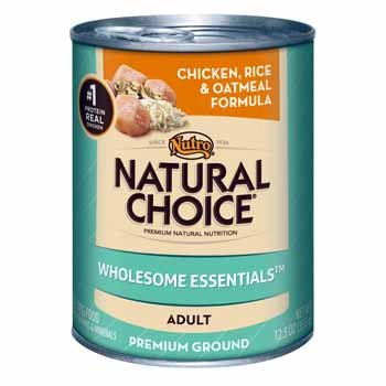 NC Can Dog Chick Rice Oat 12x12