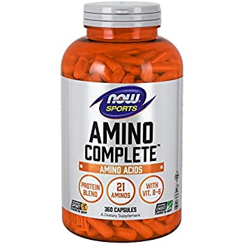 NOW Sports Nutrition, Amino CompleteTM with Vitamin B-6, 360 Count