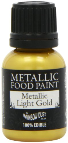 Rainbow Dust Metallic Paint, Gold