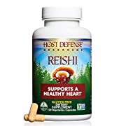 "Used for more than two millennia in Asia, Reishi has been respectfully called the ""mushroom of immortality."" Reishi grows throughout the world, primarily on hardwood trees, and is well known for supporting general wellness and vitality.* Host Defense..."