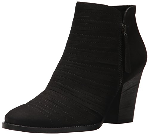 Paul Green Women's Malibu Ankle Boot, Black Nubuck, 7.5 Medium US by Paul Green