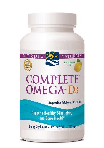 Complete Omega D3 Lemon - Nordic Naturals - 60 - Softgel