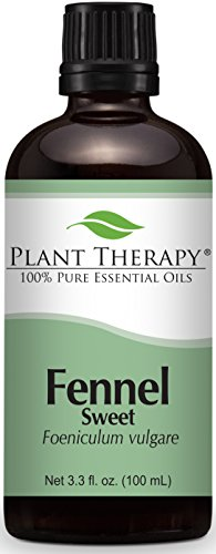 Plant Therapy Fennel Essential Oil 100 mL (3.3 oz) 100% Pure, Undiluted, Therapeutic Grade