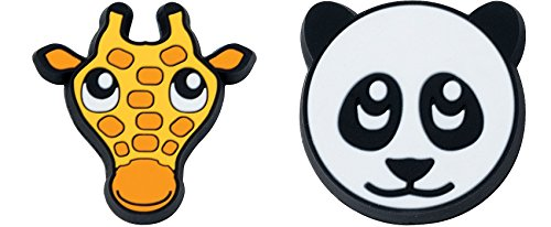 Gamma Sports Zoo Damps Vibration Dampeners(2-Pack) – Panda/Giraffe