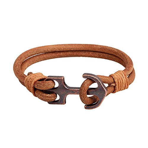 charmed-craft-alloy-black-brown-handmade-rope-anchor-leather-bracelets-brown
