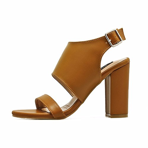 Party Heel High Eu36 Brown and with EUope Thick United Heel Womens States High nbsp;Summer nbsp; Sandals For The Heeled Sandals Women Sandals For Word qwBU00Ig