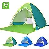 Best Beach Umbrellas - Victostar Pop up Beach Tent, Outdoor Automatic Portable Review