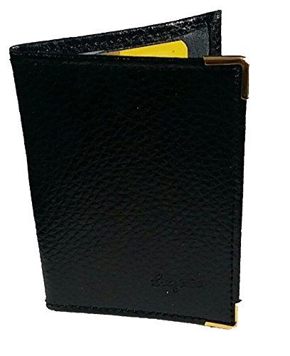 Porte-Cartes Cuir 2 Emplacements Pour 2 Cartes Bancaires Cr/édit ou Fid/élit/é