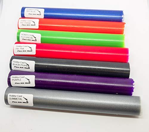- Pen Kit Mall 7 pc Assorted Acrylic Pen Blanks