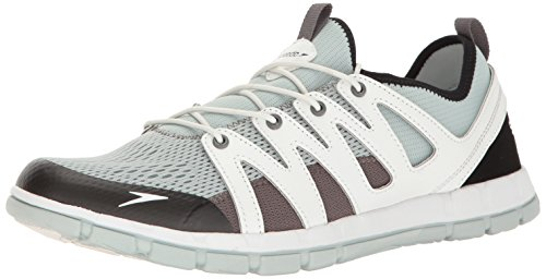 Speedo Men's the Wake Athletic Water Shoe, Grey, 9 C/D US