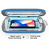 PhoneSoap Pro UV Smartphone Sanitizer & Universal Charger   Patented & Clinically Proven UV Light Disinfector   (Blue)