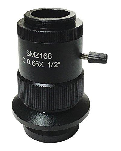 人気ブラドン アズワン B071ZMFH97 LEDズーム実体顕微鏡用 Cマウントアダプタ 2/3