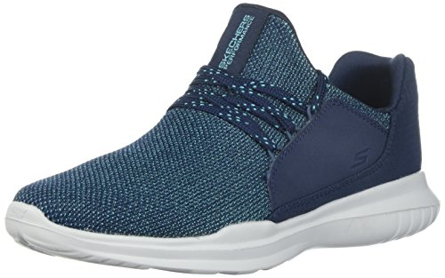 Bleu de Teal Navy Go Femme Chaussures Run Mojo Verve Skechers Fitness XUP8n1vv