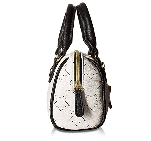 Womens Black Bone Satchel Betsey Mini Crossbody Johnson 5qwx4q68S