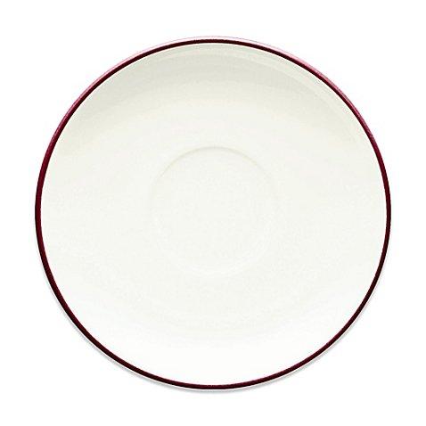 Colorwave Saucer - Noritake Colorwave After Dinner Saucer in Raspberry