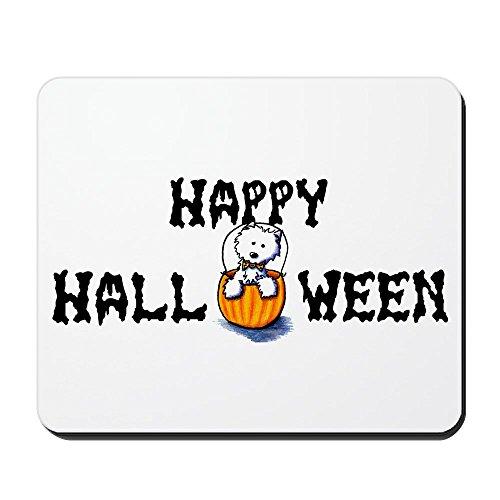 CafePress - Happy Halloween Westie Mousepad - Non-Slip