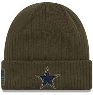 ad9abe7475d Amazon.com   Dallas Cowboys Salute to Service 2017 Knit Hat   Sports ...