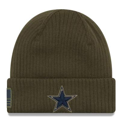 2eaeaf4871f Dallas Cowboys Salute to Service. Dallas Cowboys New Era Salute to Service  Knit Hat