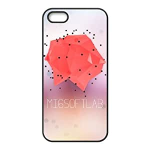 polygon iPhone 4 4s Cell Phone Case Black gift pjz003-3836871