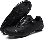 Men's Women Road Cycling Shoes, MTB Cycling Shoes, Riding Shoes with Compatible SPD Cleat Peloton S