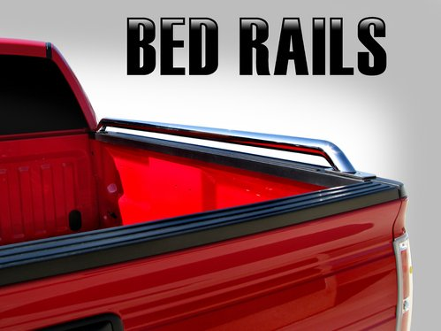 Steelcraft 620817 94-13 DODGE RAM SHORT BED 6.5' (78 inch) Stainless Steel Truck Side Bed Rails