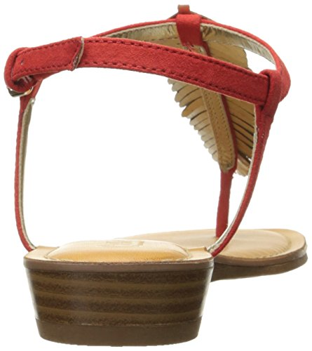 Carlos by Carlos Santana Womens Tenor Flat Sandal Paprika 2ZCxK