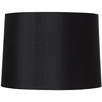 Black Hardback Drum Shade 13x14x1025 Spider