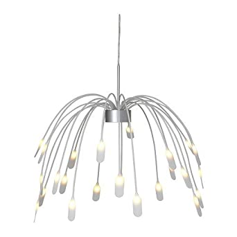 Ikea Haggas Led Lampe Suspension 50 Cm Amazon Fr Luminaires Et