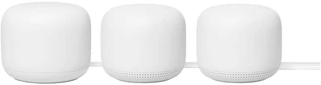 Google Nest WiFi Router and 2 Points (Snow) - AU/NZ Model