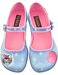 Hot Chocolate Design Chocolaticas Sussy Cat Womens Mary Jane Flat