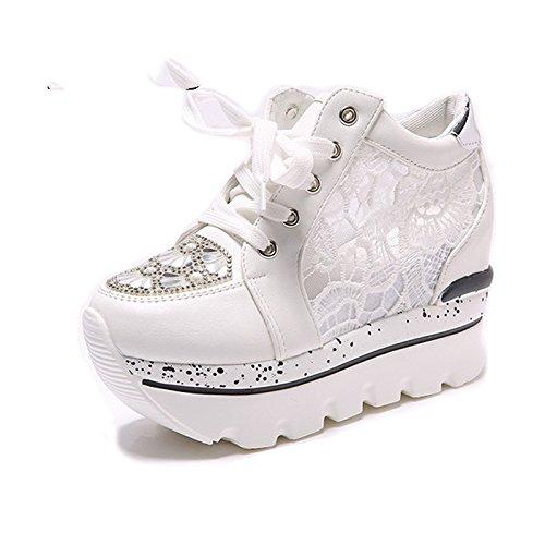 NGRDX&G NGRDX&G NGRDX&G Damen Turnschuhe Damen Vulkanisierte Schuhe Strass Damen Plattform Sportschuhe Frauen High Heels Damenschuhe Sportschuhe b2e49e
