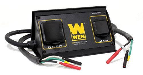 WEN 56421 30-Amp 3600-Watt Parallel Connection Kit for Inverter Generators ()