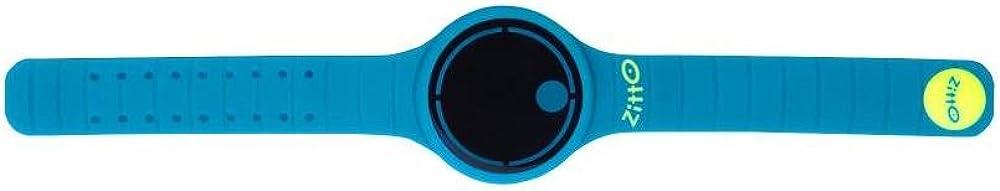 Reloj multifunción ZITTO MOVE Steel Blue en silicona ZITTOMOVE-SB azul