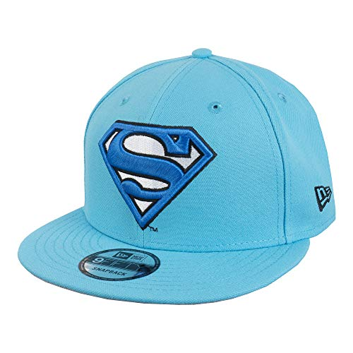 New Era 9FIFTY DC Superman Logo 950 Snapback Cap - Neon Blue - One Size