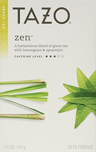 Tazo Zen Green Tea, 20 Count (Pack of 2)